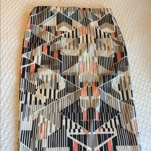 Mossimo SZ SML striped pencil skirt-NEVER WORN